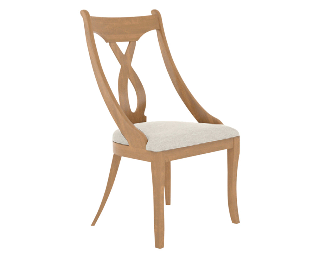 Honey Washed | Canadel Classic Dining Chair 5160