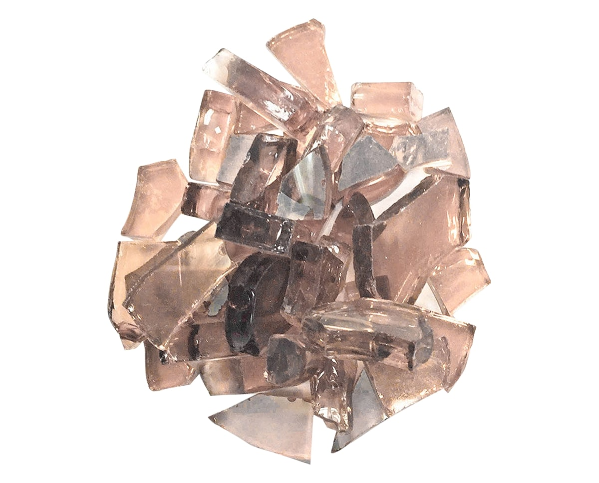 Reflective Fire Glass 1/2in (Copper) | Ratana Fire Pits Collection | Valley Ridge Furniture