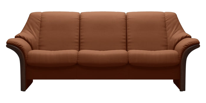 Paloma Leather New Cognac | Stressless Eldorado Low Back Sofa | Valley Ridge Furniture