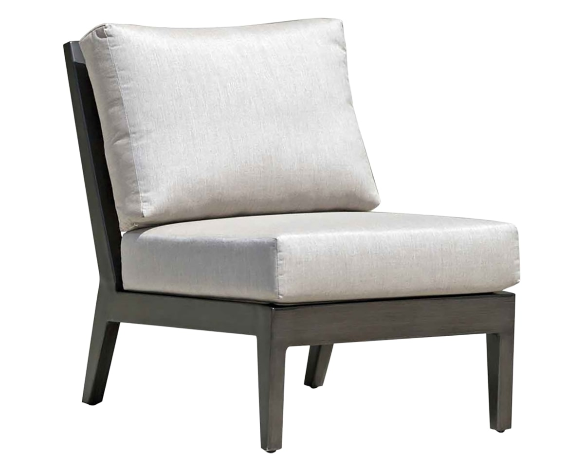 Armless Chair | Ratana Lucia Collection | Valley Ridge Furniture