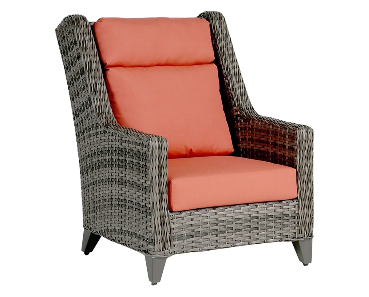 High Back Wing Chair | Ratana St. Martin Collection | Valley Ridge Furniture