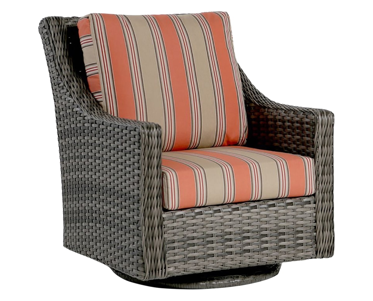 Swivel Gliding Club Chair | Ratana St. Martin Collection | Valley Ridge Furniture