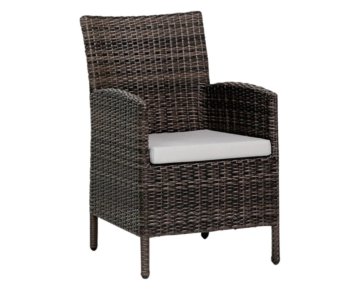 Dining Arm Chair | Ratana Coral Gables Collection | Valley Ridge Furniture