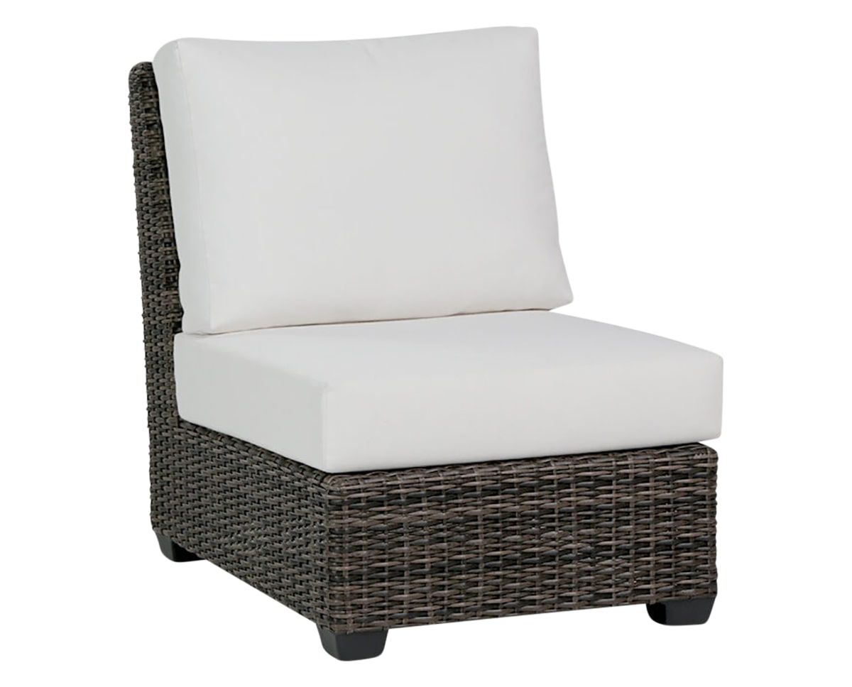 Armless Chair | Ratana Coral Gables Collection | Valley Ridge Furniture