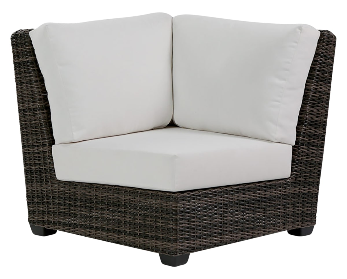 Corner Chair | Ratana Coral Gables Collection | Valley Ridge Furniture