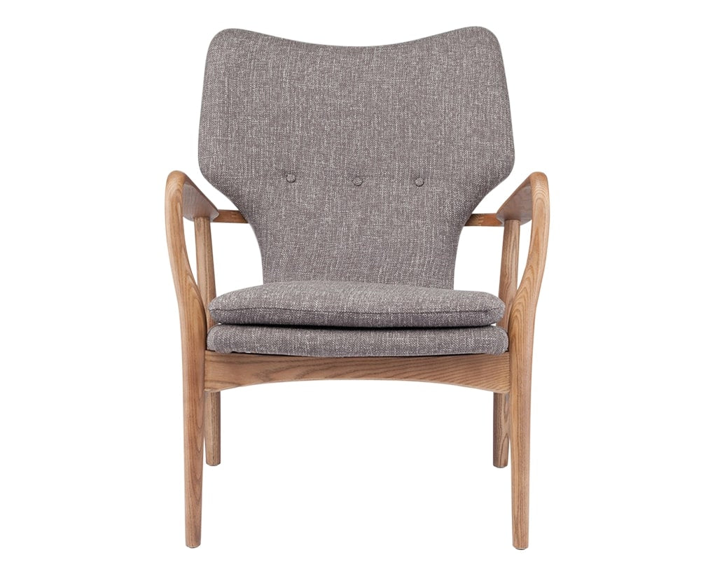 Nuevo Fabric Medium Grey | Nuevo Living Patrik Chair | Valley Ridge Furniture