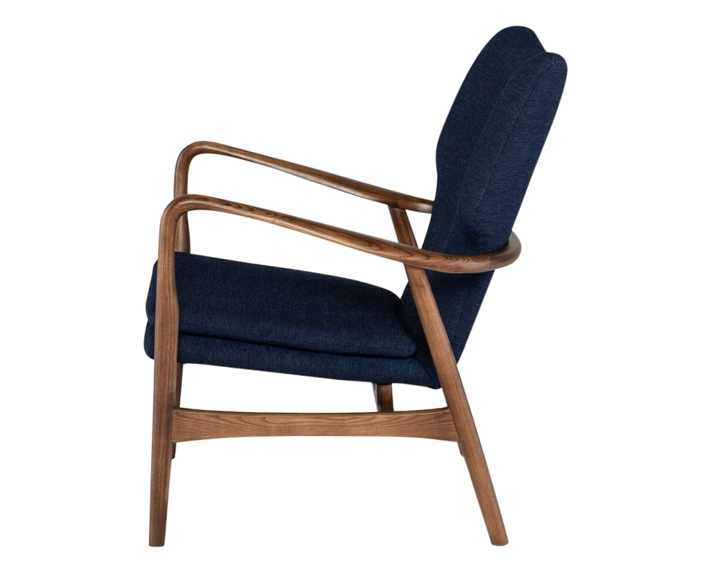 Nuevo Fabric True Blue | Nuevo Living Patrik Chair | Valley Ridge Furniture