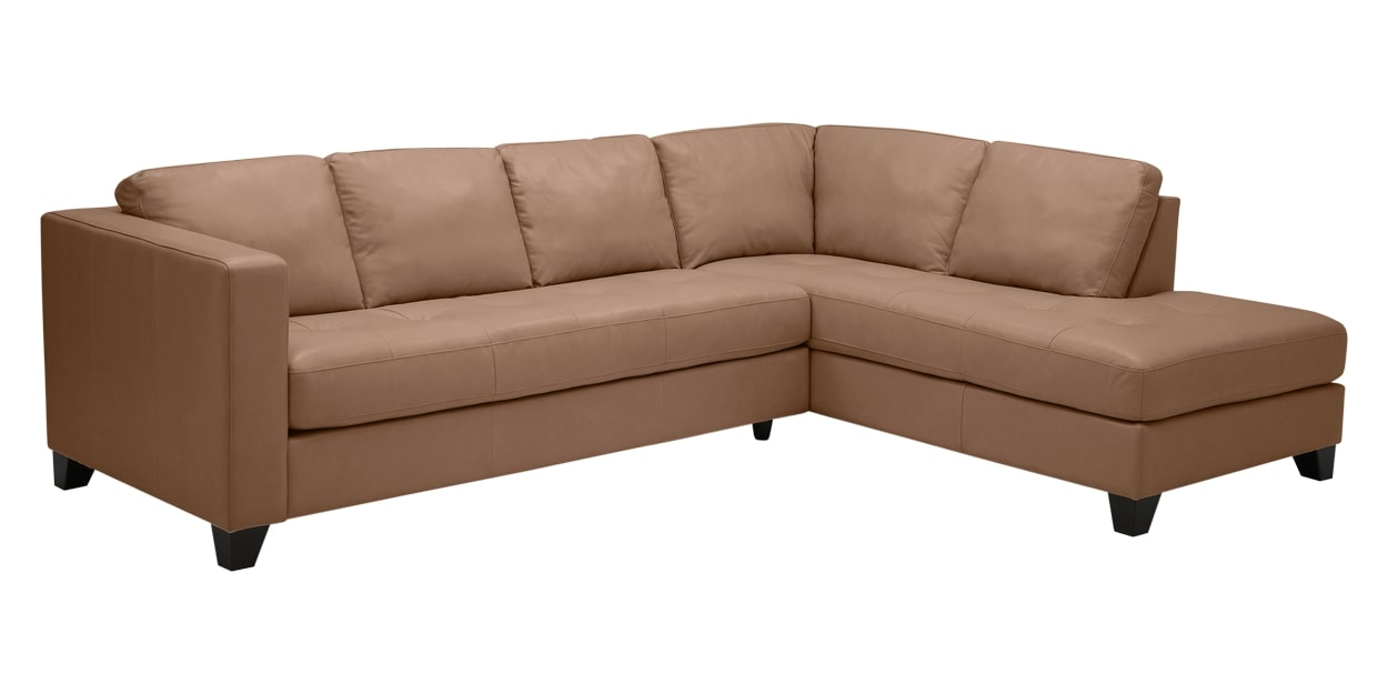 Solana Leather Antler | Palliser Furniture Jura Sectional | Valley Ridge Furniture