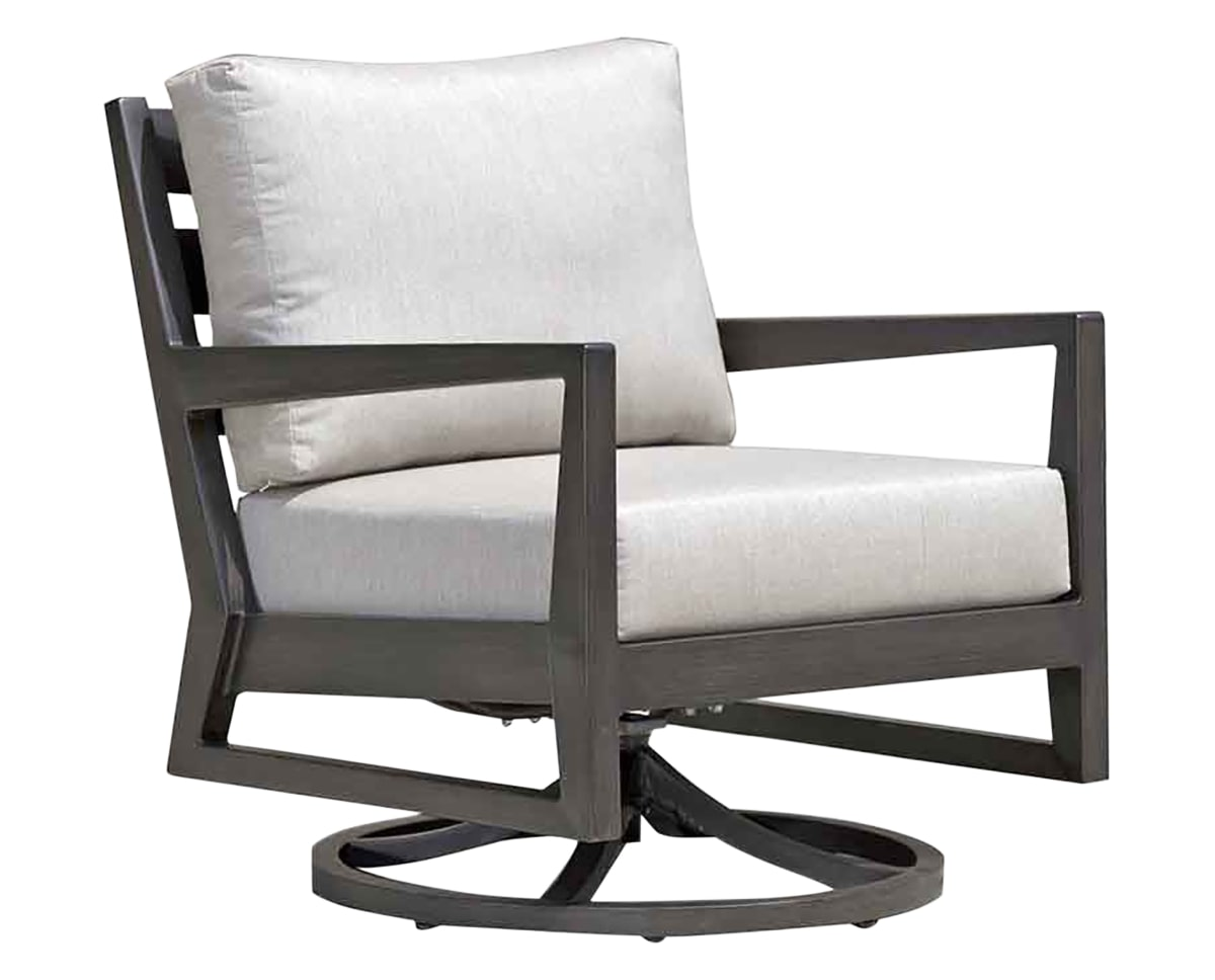 Swivel Rocker Chair | Ratana Lucia Collection | Valley Ridge Furniture