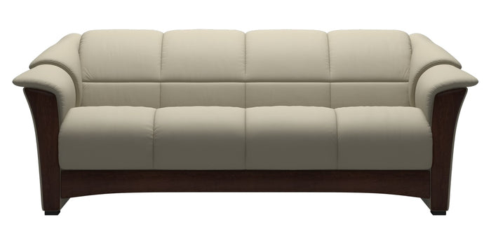 Paloma Leather Light Grey | Stressless Oslo Sofa | Valley Ridge Furniture