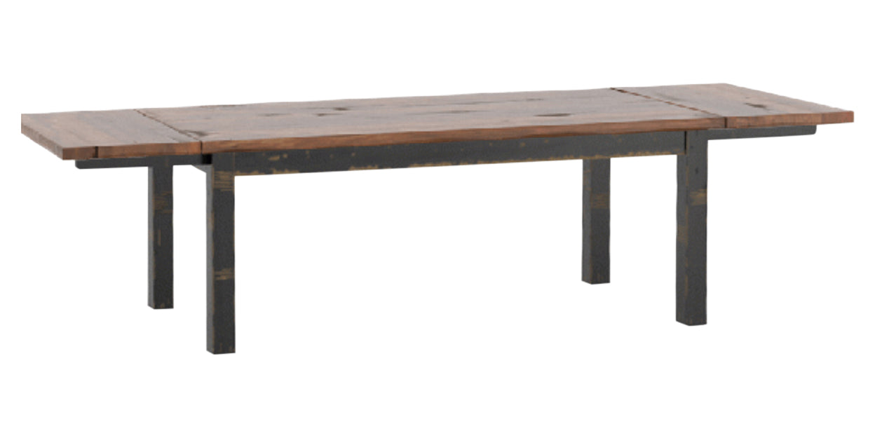Black/Spice Washed | Canadel Champlain Dining Table 3878