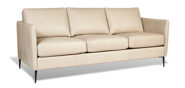 White Leather | Divani Tegan Sofa
