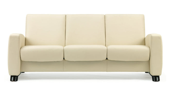 Paloma Vanilla | Stressless Arion Low Back Sofa