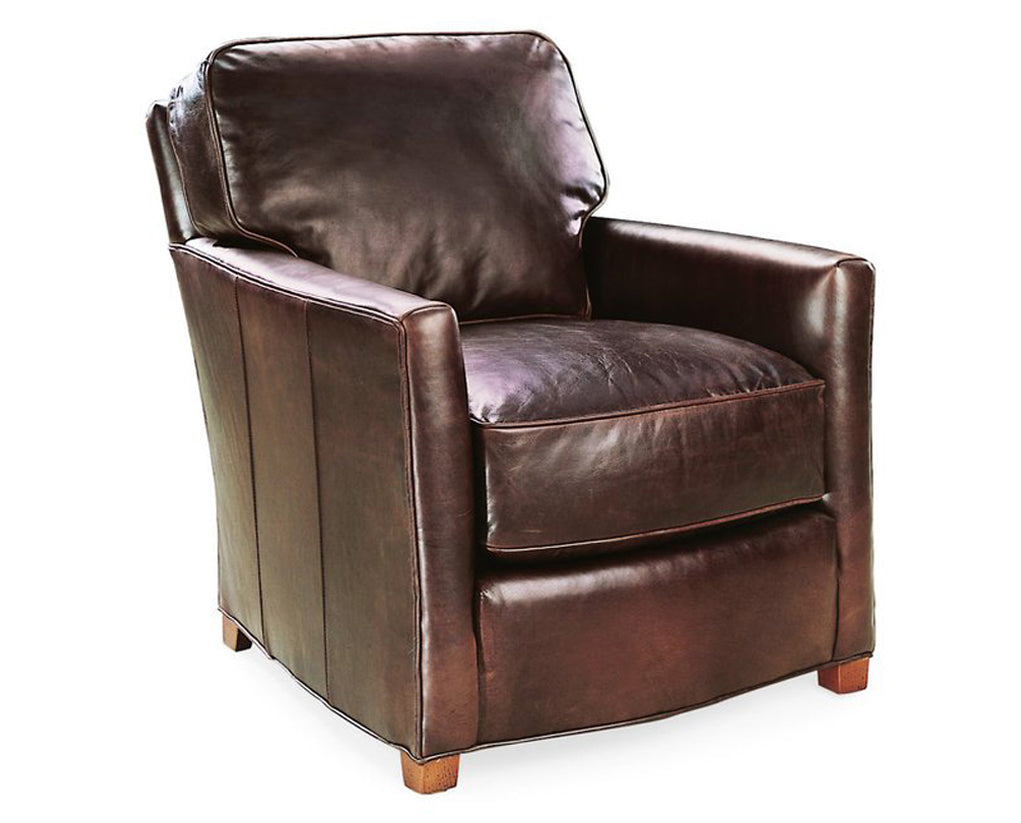 Chaps Toffee | Lee L3121 Leather Chair