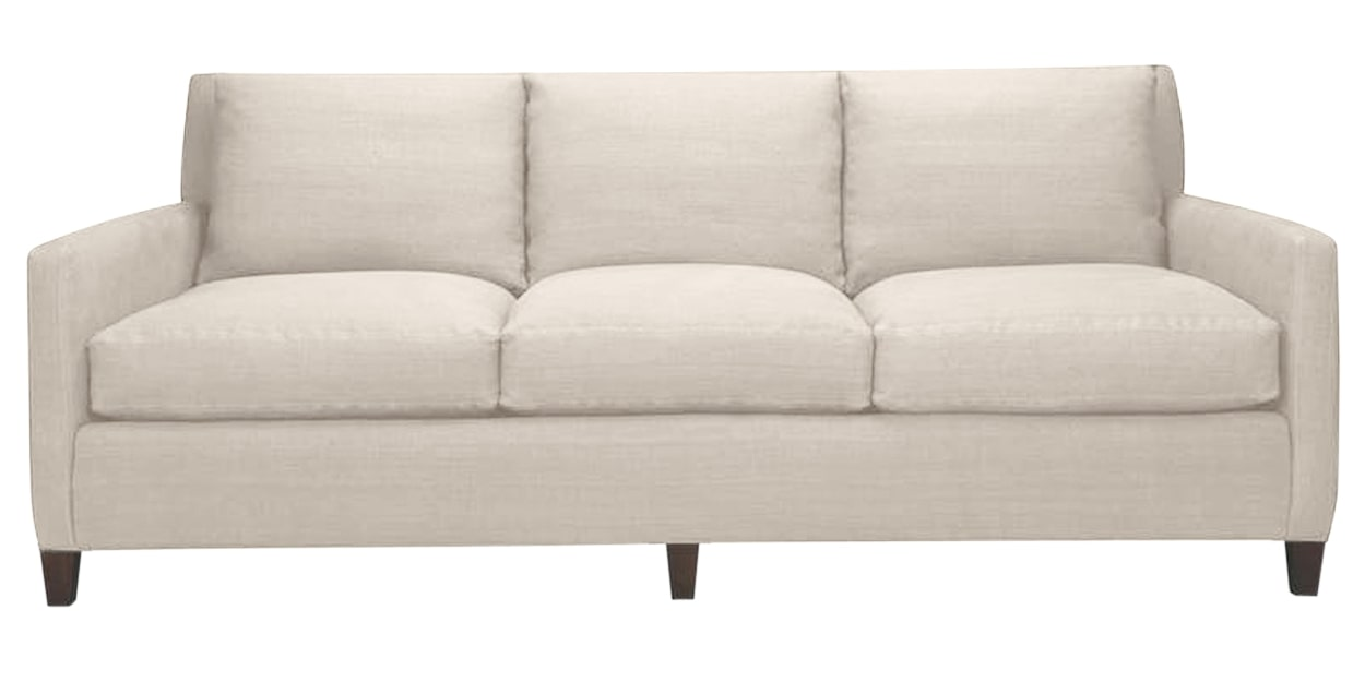 Duke Fabric Alabaster | Lee Industries 1296 Sofa | Valley Ridge Furniture