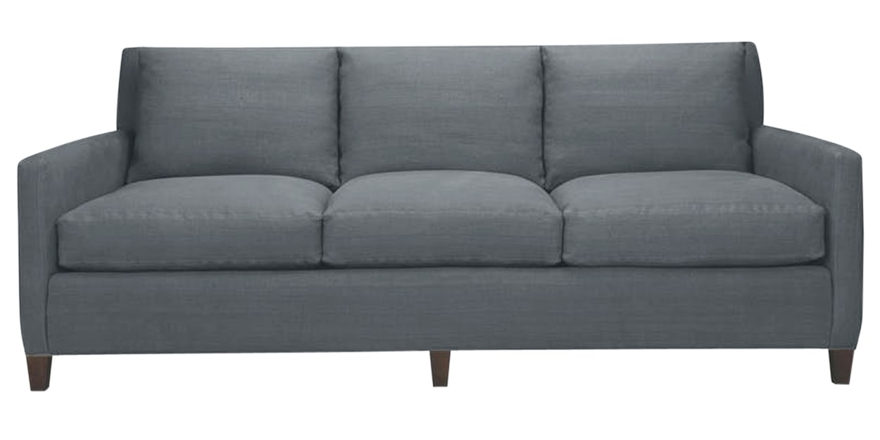 Duke Fabric Blue | Lee Industries 1296 Sofa | Valley Ridge Furniture