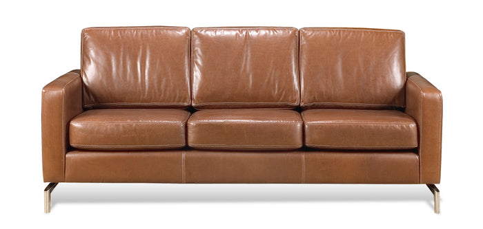Brown leather | Divani Dynamic Sofa