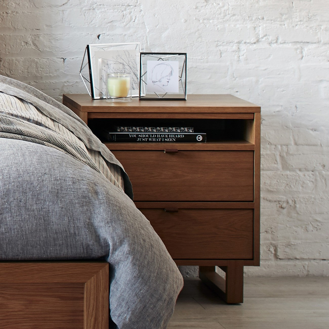 Sand | West Bros Fulton Nightstand