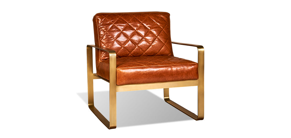 Brown Leather | Divani Garbo Chair