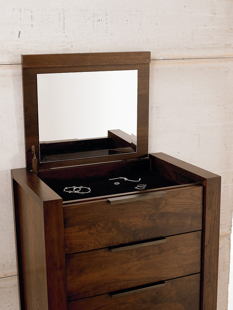 Walnut | West Bros Phase Lingerie Chest