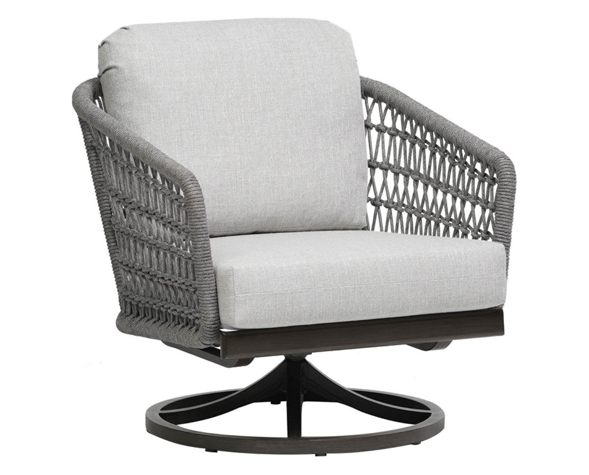 Swivel Rocker Chair | Ratana Poinciana Collection | Valley Ridge Furniture