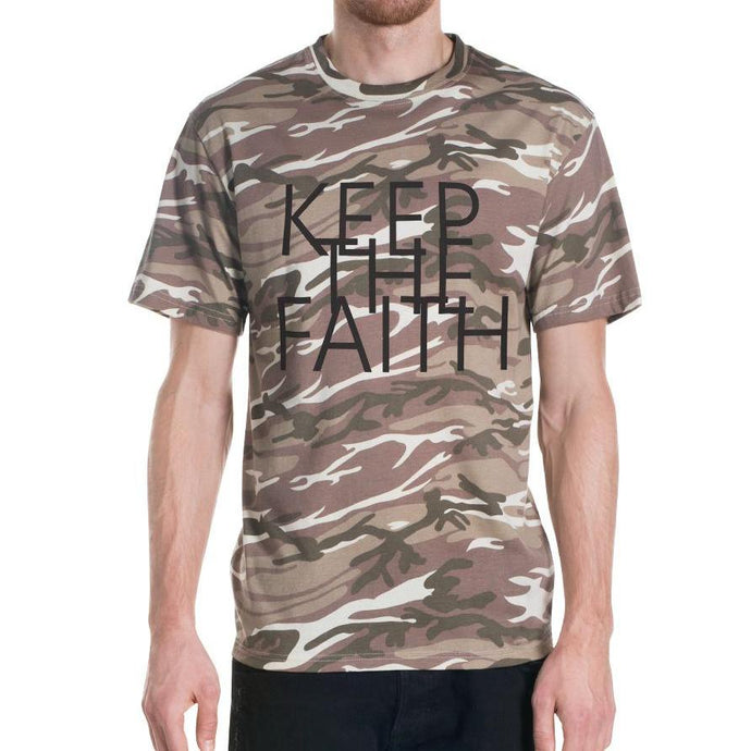 Men's Camo Keep the Faith T-shirt