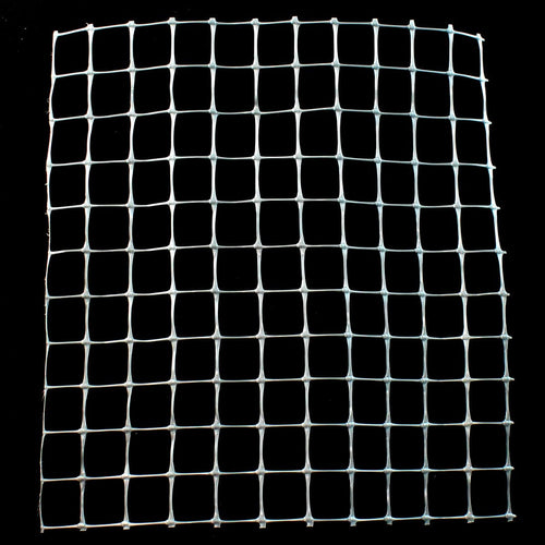 "6' x 100' Trident Multi-Purpose Fence 1"" x 1"" Mesh with Reinforced Bottom- Gray"