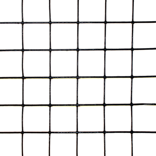 "2' x 50' Welded Wire-19 ga. galvanized steel core; 17 ga after PVC-Coating, 1"" x 1"" Mesh"