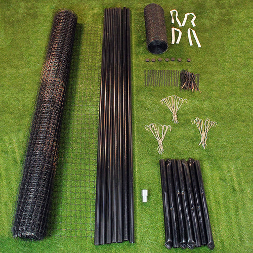 8' x 100' Maximum Strength Deer Fence Kit With Rodent Protection
