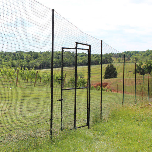 Access Gate For 6' Deer Fence-Direct Burial Installation
