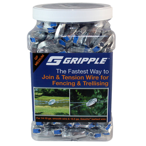 Gripple for 12 Gauge Monofilament- 200 Count Jar