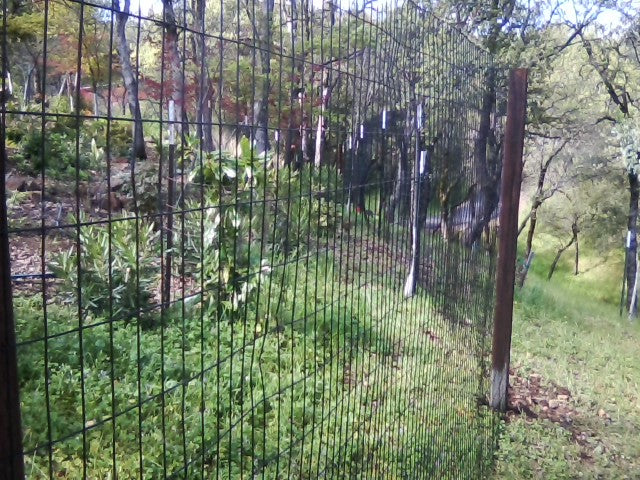 6' x 100' Welded Wire Deer Fence Kit