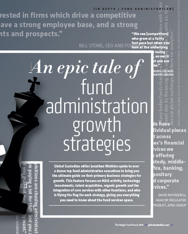 Strategy Games: An epic tale of fund administration growth strategies