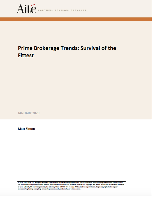 Prime Brokerage Trends: Survival of the Fittest