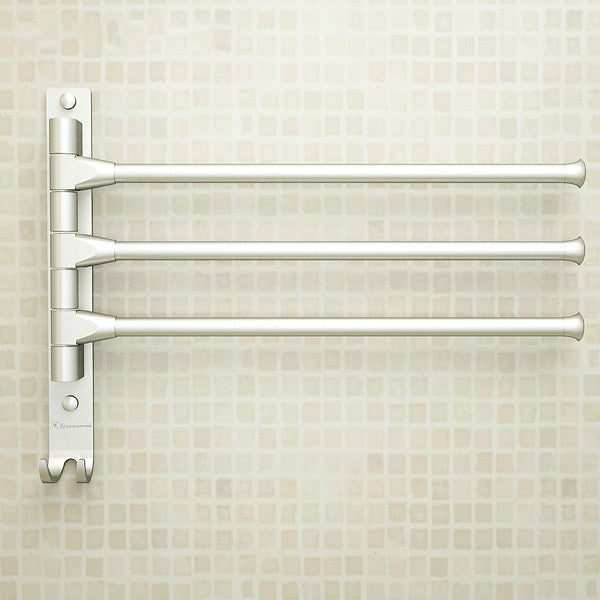 European Aluminium Towel Rack Movable Towel Bars 4/3/2 Arms