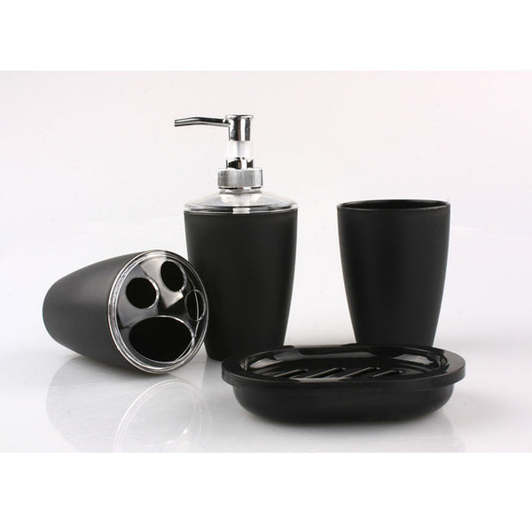 4 Piece Creative Ceramics Bathroom Set