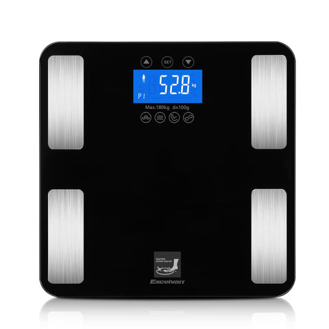 Smart Touch Digital Scale Track Body Weight BMI Fat Water Calories Muscle Bone Mass