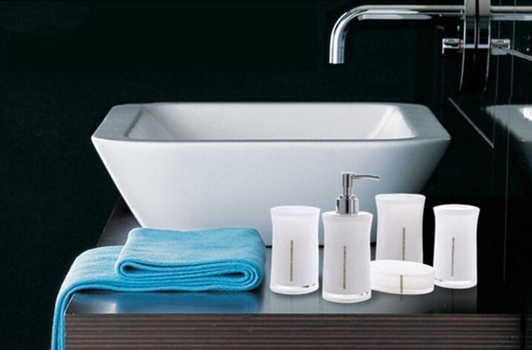 Acrylic Eco Friendly Bathroom Accessory Set