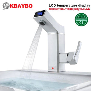 LCD Intelligent Digital Electric Faucet Instant Hot Water
