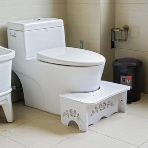 Bathroom Toilet Bench Squatty Step Foot Stool