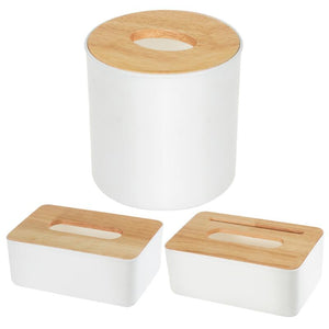 Wooden Tissue Box European Style