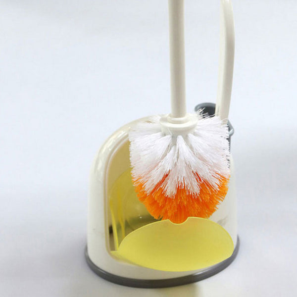Toilet Scrubber Brush With Base