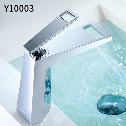 Waterfall Faucet Single Handle Black White