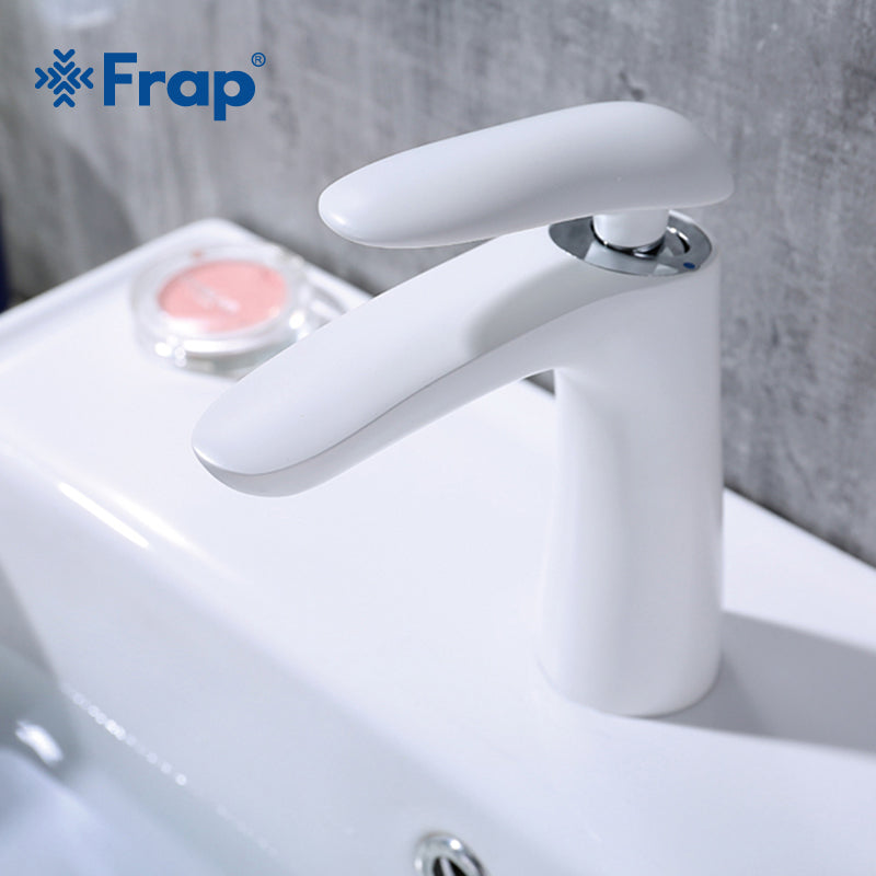 Waterfall Faucet Brass White
