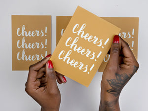 CARTE : CHEERS