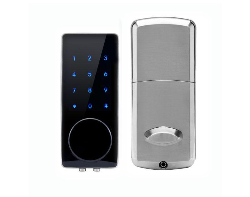 bunnings digital keyless smart warehouse lock deadbolt door samsung