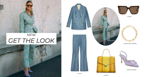 GET THE LOOK - MFW STREET STYLE