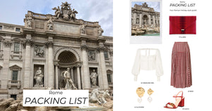 ROME PACKING LIST