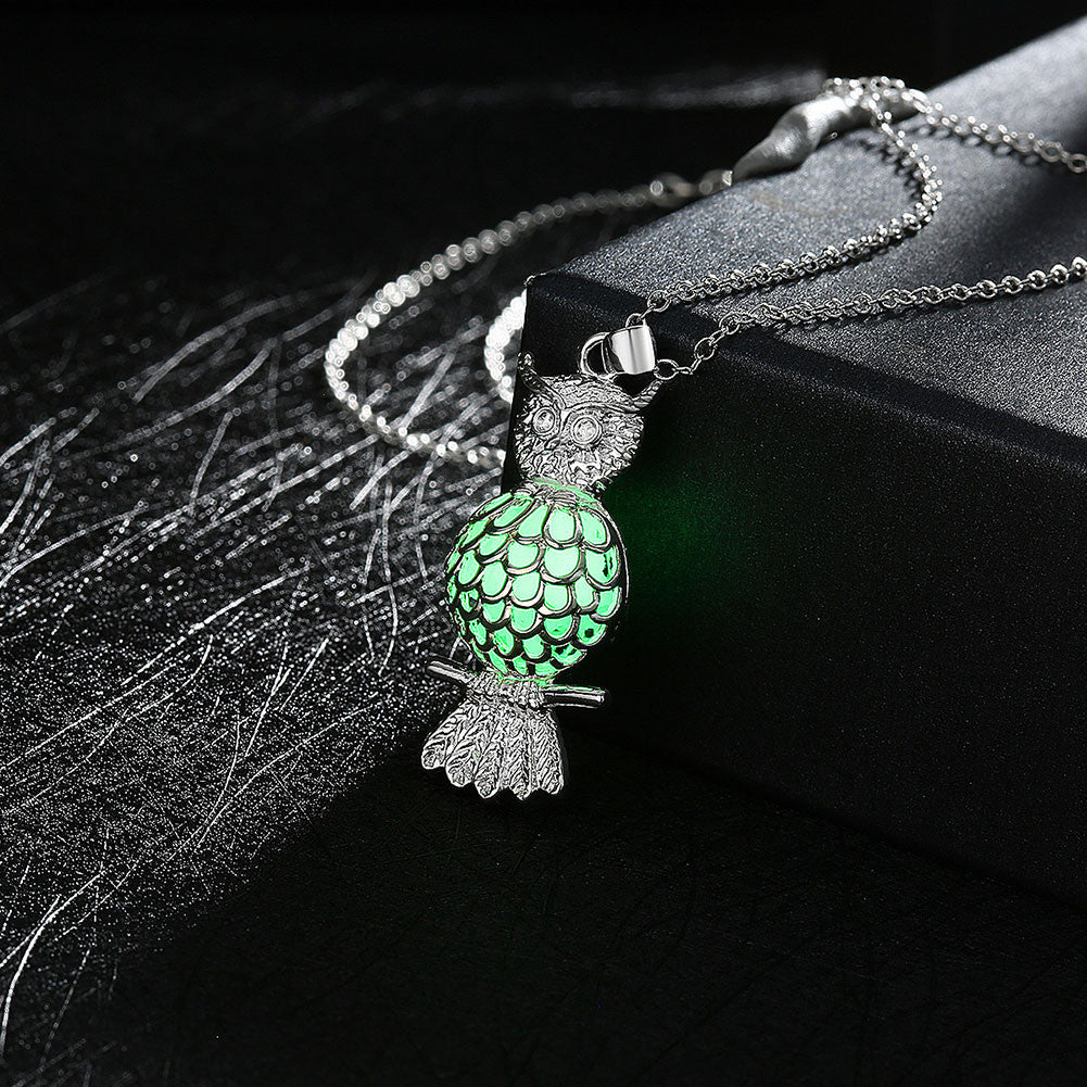 Silver necklaces & pendants woman lucky pendant necklace women jewelry  - handwristband