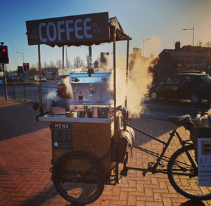 Steaming Coffee trike